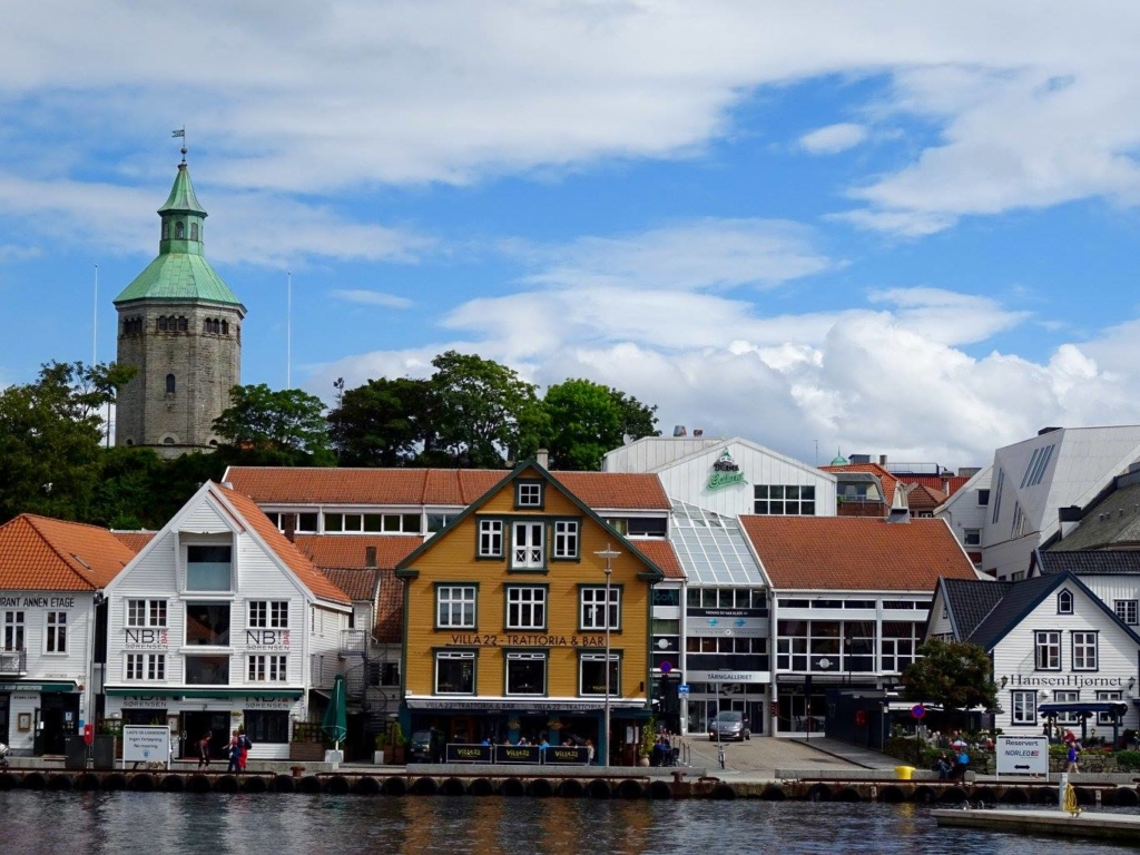Stavanger City - A Picture of the stunning facades