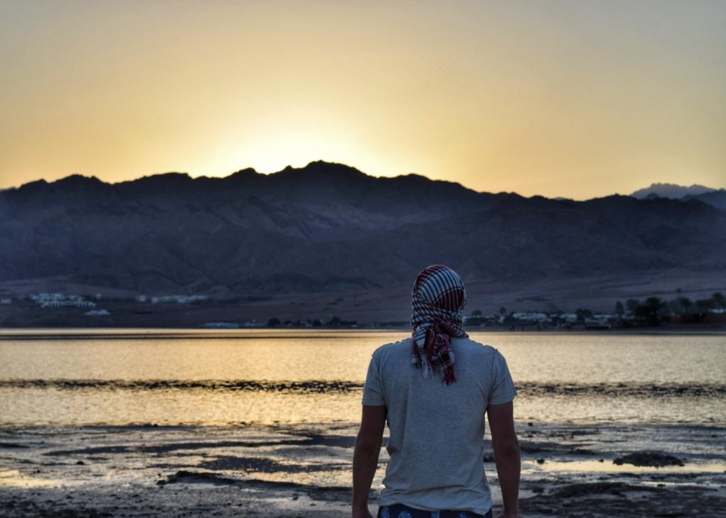 Dahab Sunsets from Laguna Beach, Egypt
