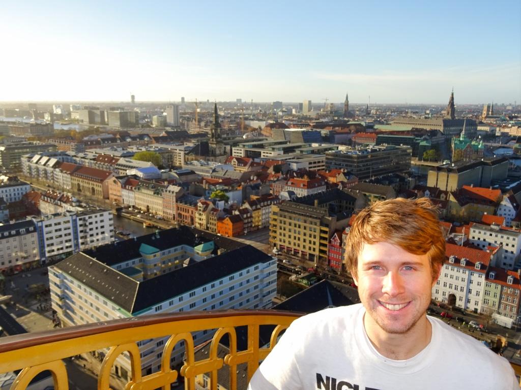 The Top of Copenhagen's Spiral Church