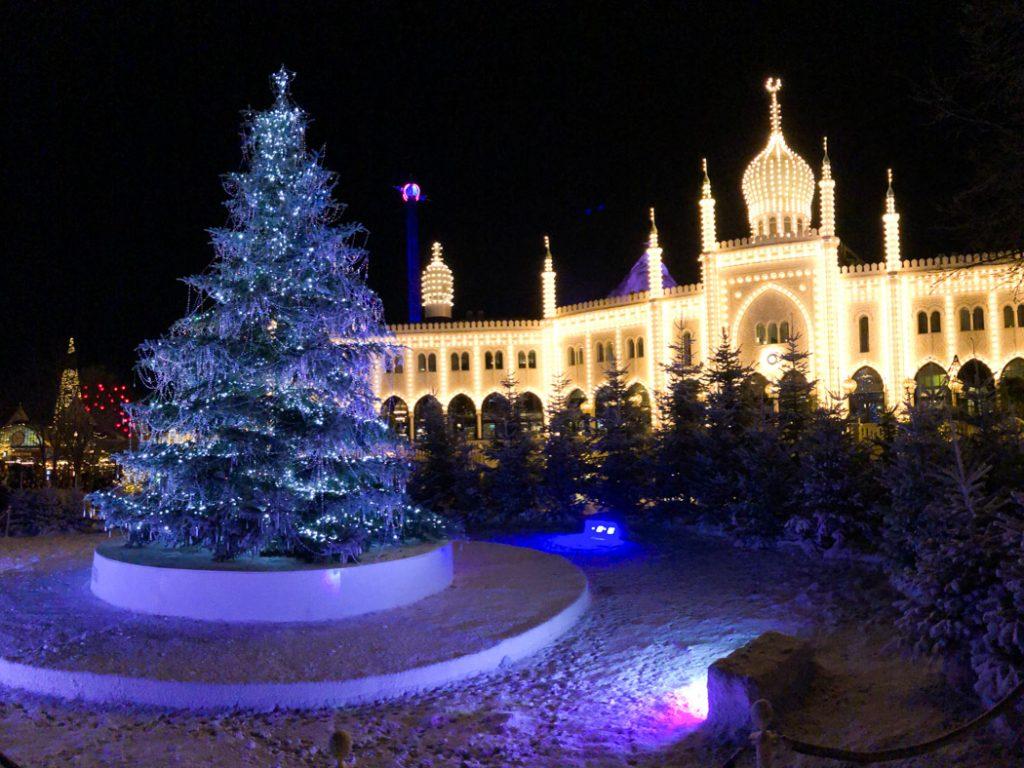 Tivoli Gardens during Christmas