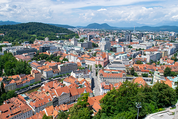 The View from Ljubljana Castle